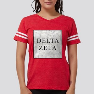 Delta Zeta Marble Womens Football Shirt
