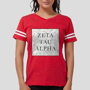 Zeta Tau Alpha Marble Square Womens Football Shirt