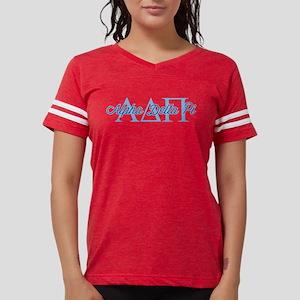 Alpha Delta Pi Script Womens Football Shirt