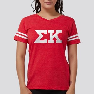 Sigma Kappa Letters Womens Football Shirt
