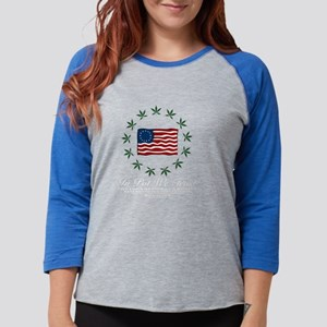 green flag2-forcolor Womens Baseball Tee
