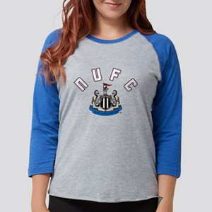 NUFC and Crest Womens Baseball Tee