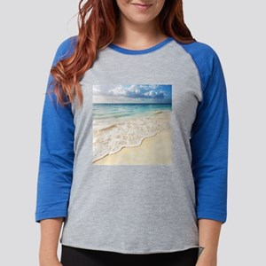 Beautiful Beach Womens Baseball Tee