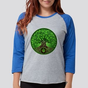 9db1842d8 Circle Celtic Tree of Life Long Sleeve T-Shirt