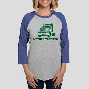6589c0e36 mother trucker Long Sleeve T-Shirt