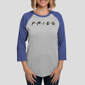 Friends Fries Womens Baseball Tee
