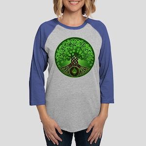 Circle Celtic Tree of Life Long Sleeve T-Shirt