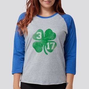 St Patricks Day 3/17 Shamrock Long Sleeve T-Shirt
