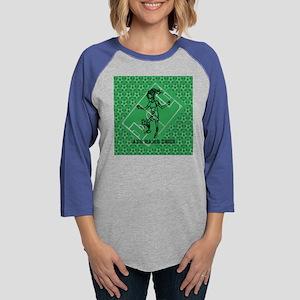 Personalized Soccer girl MOM d Womens Baseball Tee