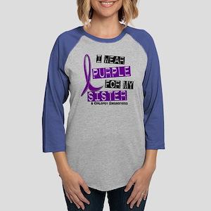 I Wear Purple 37 Epilepsy Long Sleeve T-Shirt