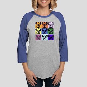 Border Terrier Pop Art Long Sleeve T-Shirt