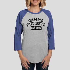 Gamma Phi Beta Athletic Womens Baseball Tee