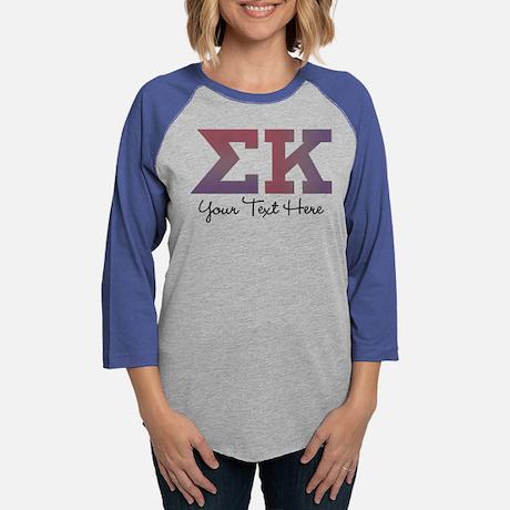 Sigma Kappa Personalized Baseball Tee
