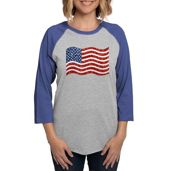 sequin american flag