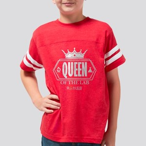 Bones Queen of the Lab Dark Youth Football Shirt