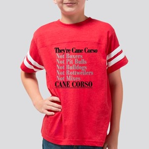 theyrecanecorsoblack Youth Football Shirt