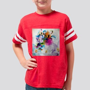 Floral Ornament Youth Football Shirt