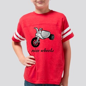 nicewheelsblk Youth Football Shirt