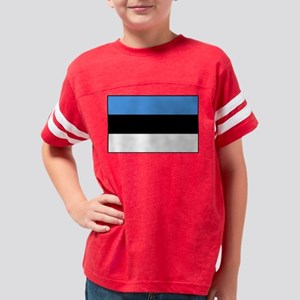 Flag of Estonia Youth Football Shirt