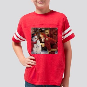 Santa Reading Note T-Shirt