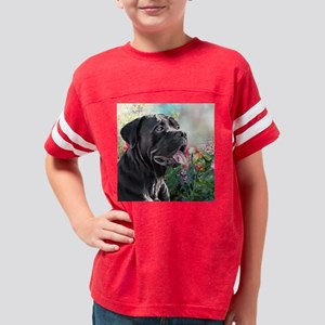 Cane Corso Painting Youth Football Shirt