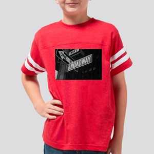 broadway4 Youth Football Shirt