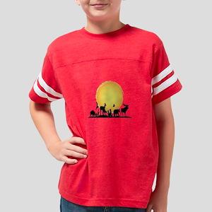 Animal Kingdom Christmas Shirt.Animal Kingdom Kids Football T Shirts Cafepress