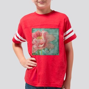 Fleurs - Peony Garden Flower  Youth Football Shirt