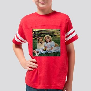 childhood coaster 3 Youth Football Shirt
