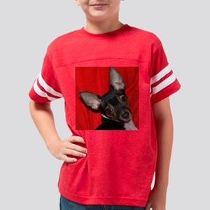 ToyFoxTerrierShower1 Youth Football Shirt