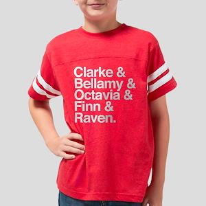 The 100 Names Dark Youth Football Shirt