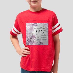 90th Birthday Celebration Des Youth Football Shirt