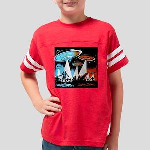 UFO Attack Youth Football Shirt