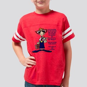 2-770B Ask Us Youth Football Shirt