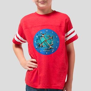 clocksync2 Youth Football Shirt
