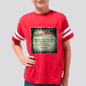 60 inch Curtains FunnyFridayE Youth Football Shirt