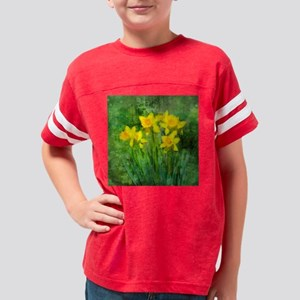 Daffodil Art Youth Football Shirt