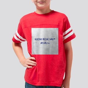 Musicians Become Sharp Natura Youth Football Shirt
