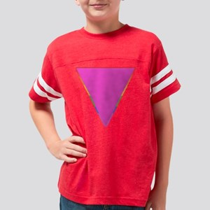 triangle shirt redge black Youth Football Shirt