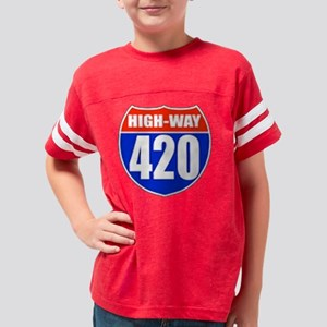 high Youth Football Shirt