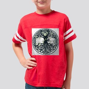 Celtic Tree Knot Youth Football Shirt