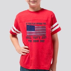 flag3 Youth Football Shirt