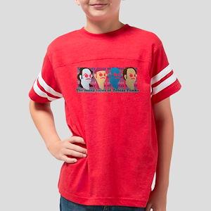Many Faces of Tobias Light Youth Football Shirt
