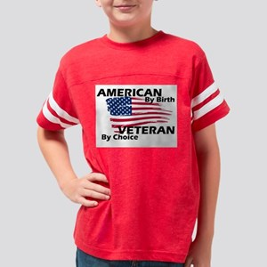 American By Birth Youth Football Shirt