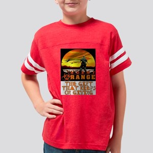 GIFT THAT KEEPS ON GIVING Youth Football Shirt
