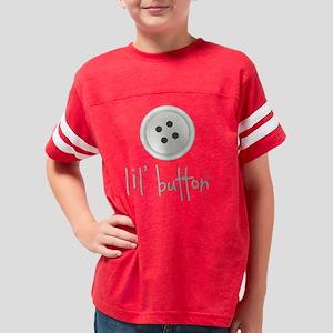 LilButton-10-GY Youth Football Shirt