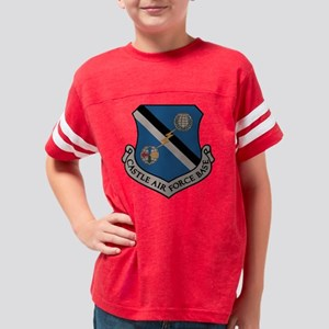 CASTLE AIR FORCE BASE Youth Football Shirt