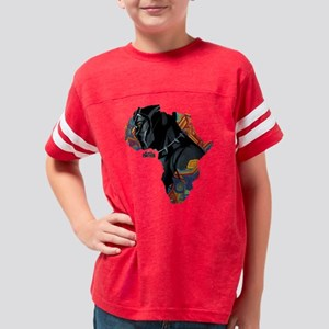 Black Panther Africa Youth Football Shirt
