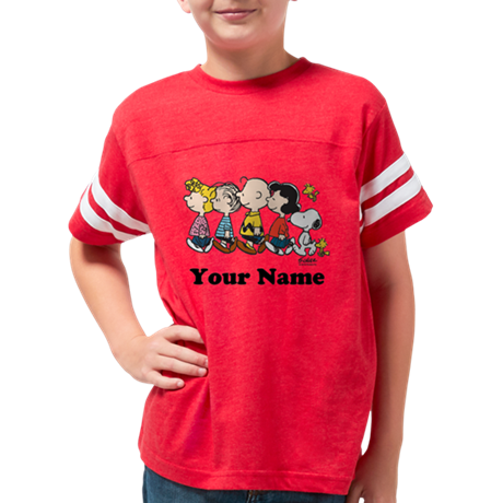 Peanuts Walking No BG Persona Youth Football Shirt
