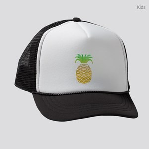 Colorful Pineapple Kids Trucker hat